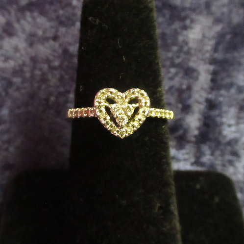 10kt Gold Sweetheart Ring