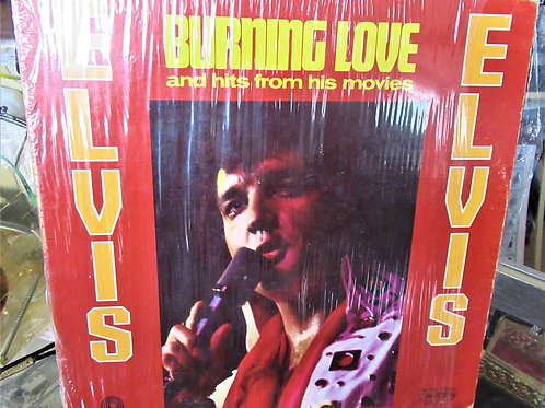 1972 Elvis Burning Love and Hits from his Movies Album