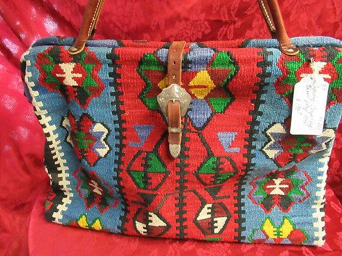 Tapestry Carpet Bag