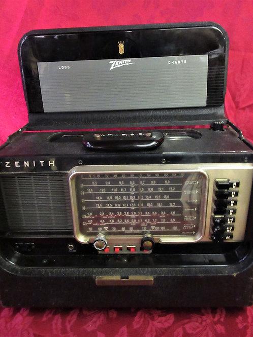 1950's Zenith Wave-Magnet Transoceanic Radio