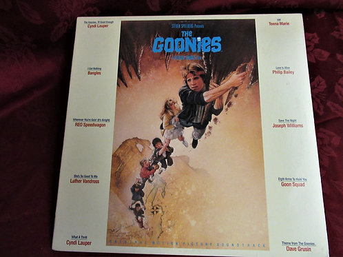 1985 The Goonies LP Songs From The Movie