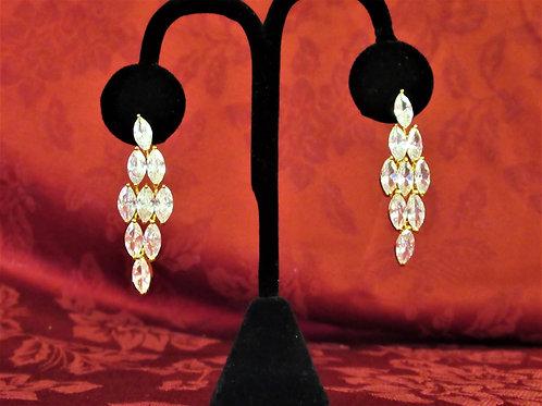 Premium Topaz Chandelier Earrings