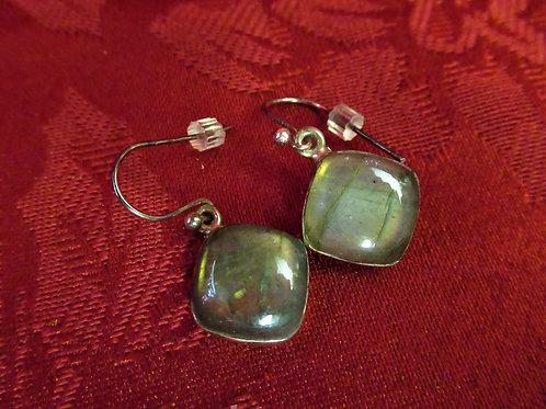 Labradorite set in Sterling Earrings