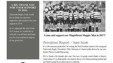 TRFC Newsletter - Issue 1