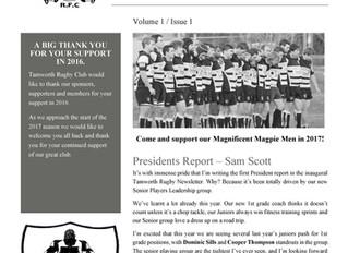 TRFC Newsletter - Issue 1