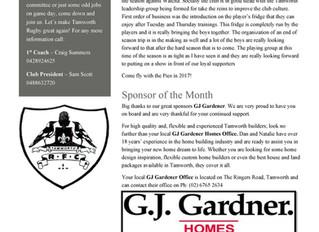 TRFC Newsletter Issue 2