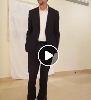 Moshe Feiglin in English in Ra'anana