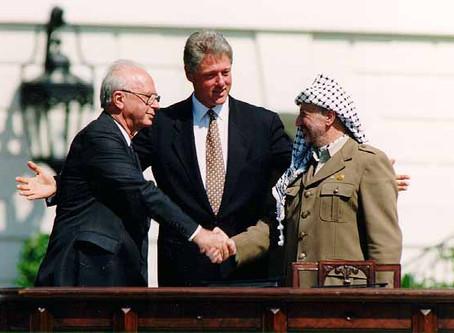 Israel's Media Silent on Oslo's 25th Anniversary