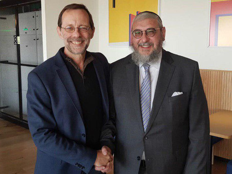 Breaking Israel News: The Rabbi and the Ideologue: A Powerful Political Combination
