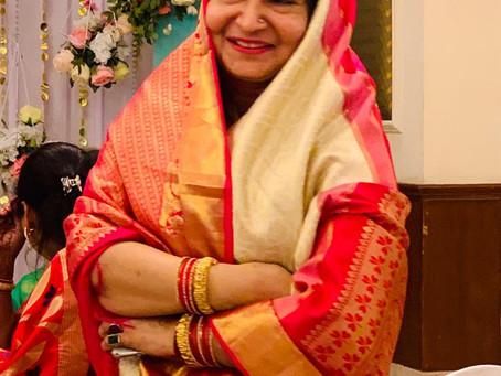संस्कृत भूषण की उपाधि से सम्मानित हुई विश्व सनातन जगत की प्रथम महिला कामिनी दुबे।