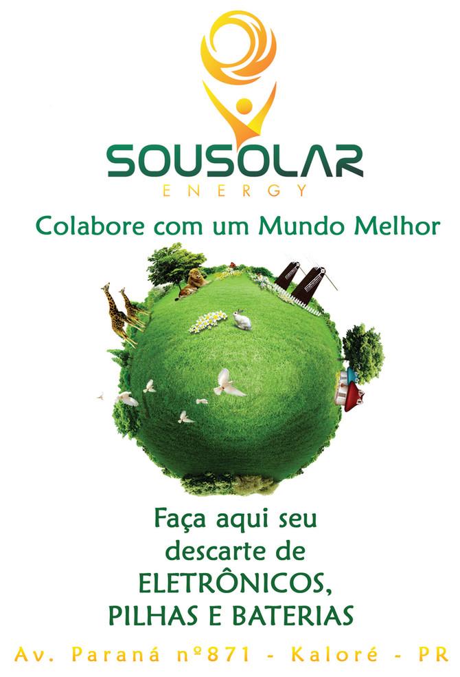 Seja Solar e Descarte Consciente