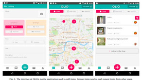 Mobile app for searching and spreading innovation