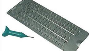 Braille slate