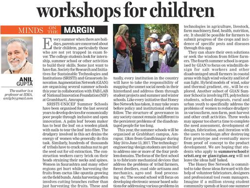Summer School and Creative Workshop for Children