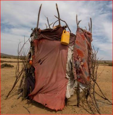 To design toilets in the Little Rann of Kutch addressing privacy and water shortage problem in a cos