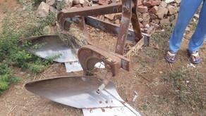 Plough Depth Sensor for bullock drawn plough and tractor/power tiller