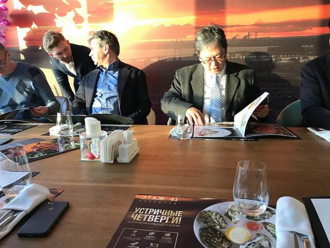 14 ve 15 Şubat'ta Petersburg şehrinde Giken Teknolojisi hakkında bir seminer düzenlendi.