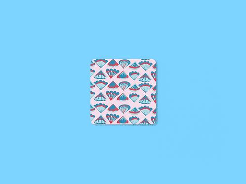 Shell Print Coaster