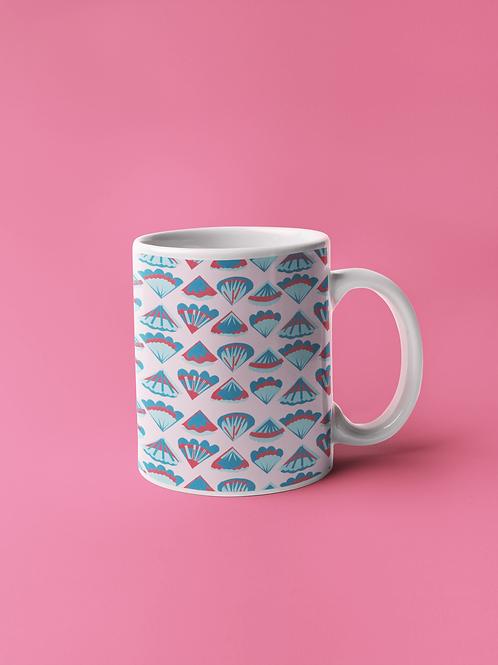 Shell Print Mug