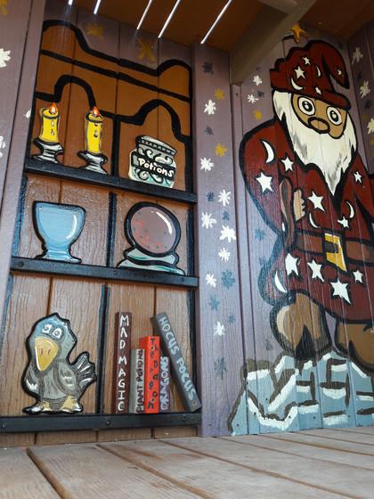 Wizard Mural