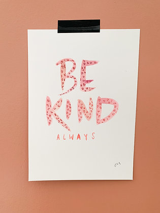 Pink/Red Be Kind