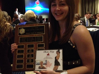 BC/YK AGM Awards Evening - Phoebe Kemp