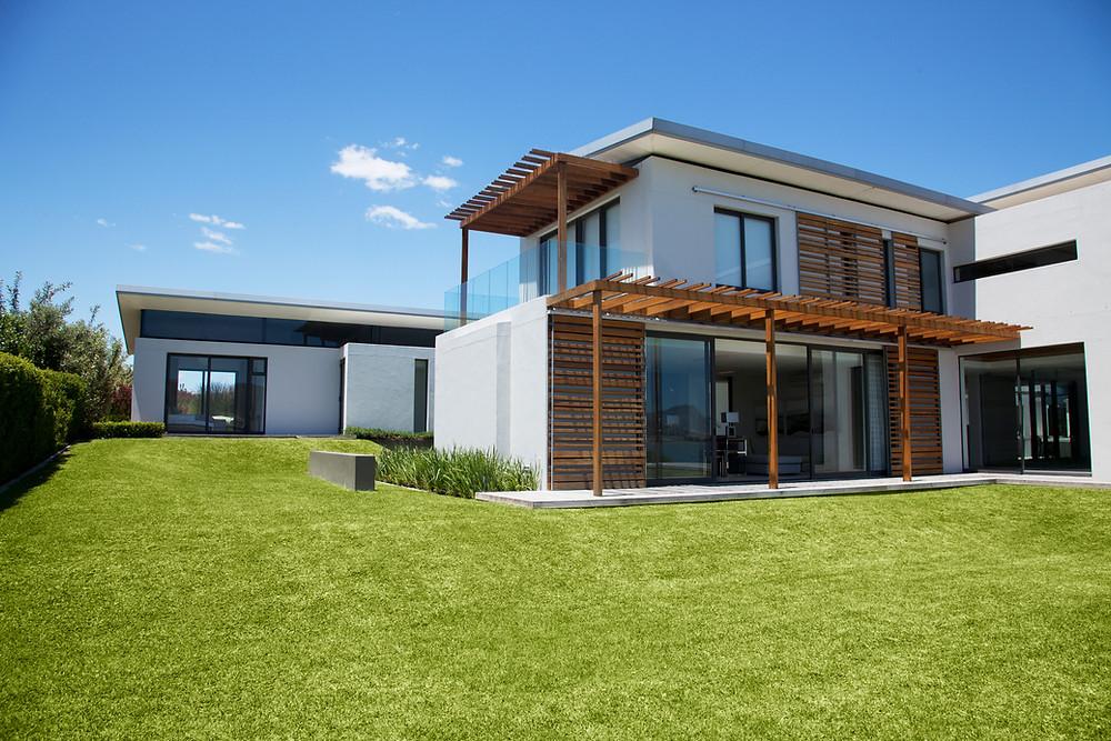 Clean house exterior