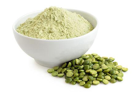 Green-pea-flour-and-green-split-peas.-12