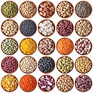 collection-of-wooden-bowls-with-legumes-