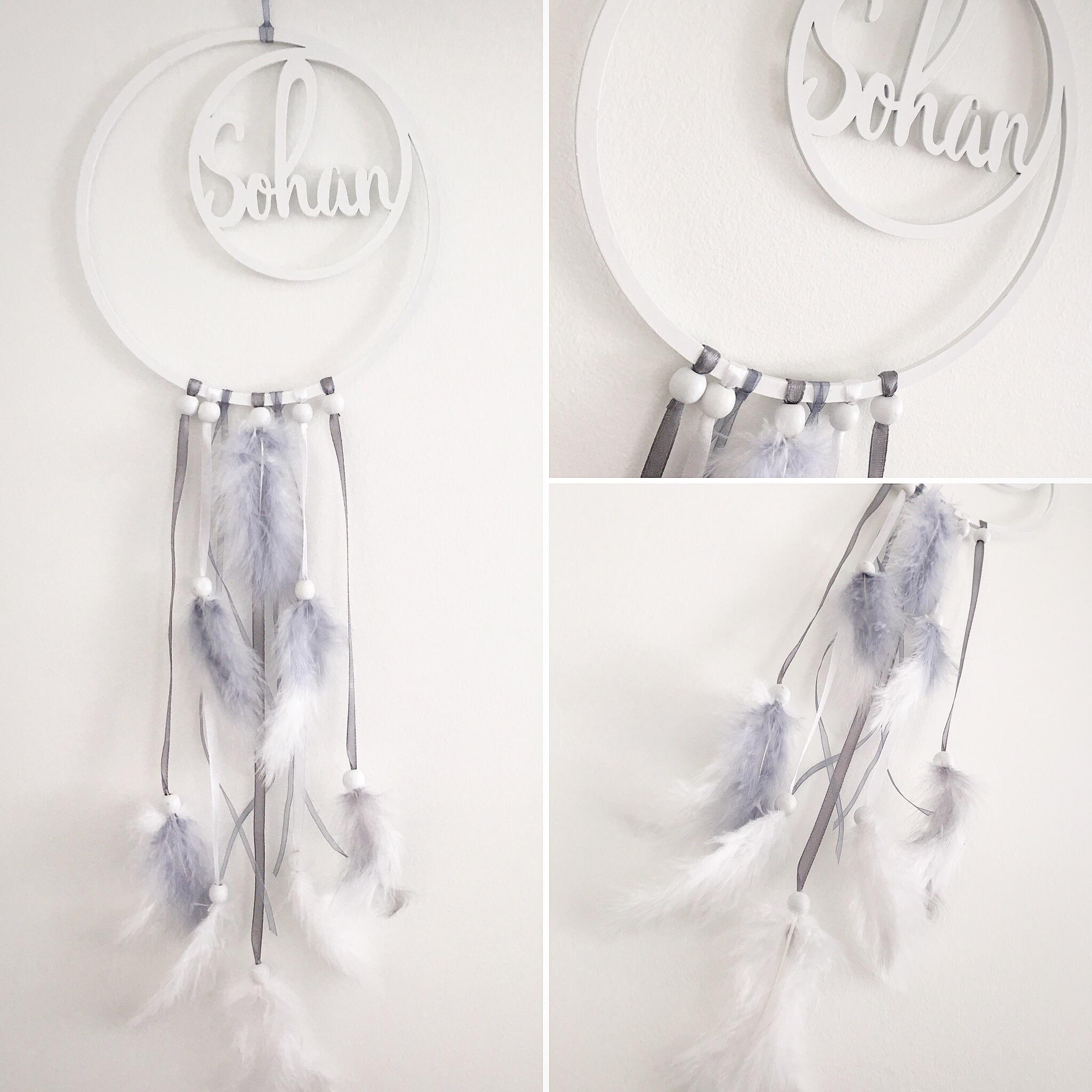 Modèle Prénom • Plexi blanc mat