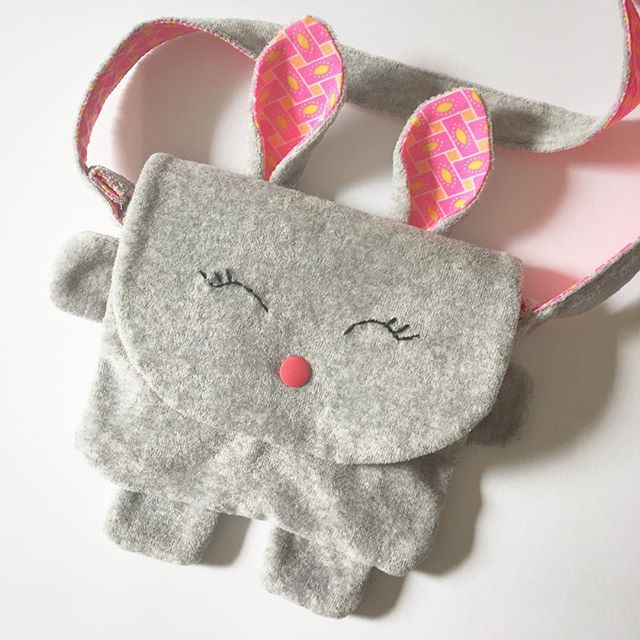 *Couture* Sac lapin
