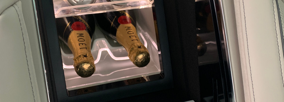 Chilled Champagne on tap.JPG