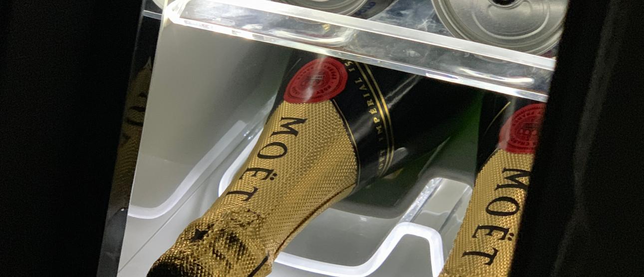 Rear fridge