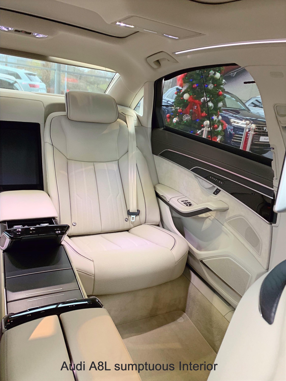 A8L rear seats