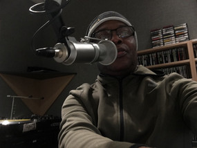 Founder Patrick on a radio show discussing AHFOMAD