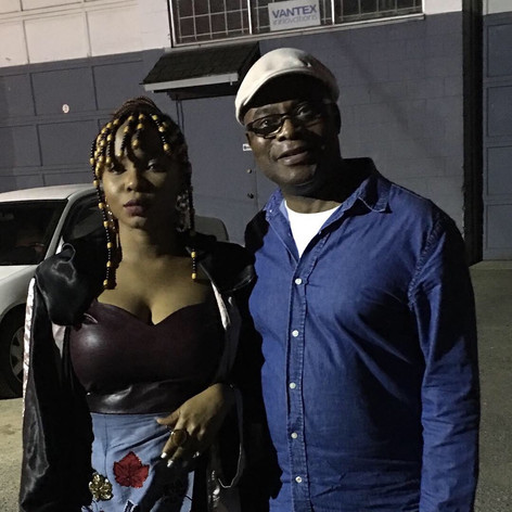 Patrick and Nigerian Artist Yemi Alade
