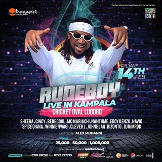 Rudeboy Live in Kampala 2020