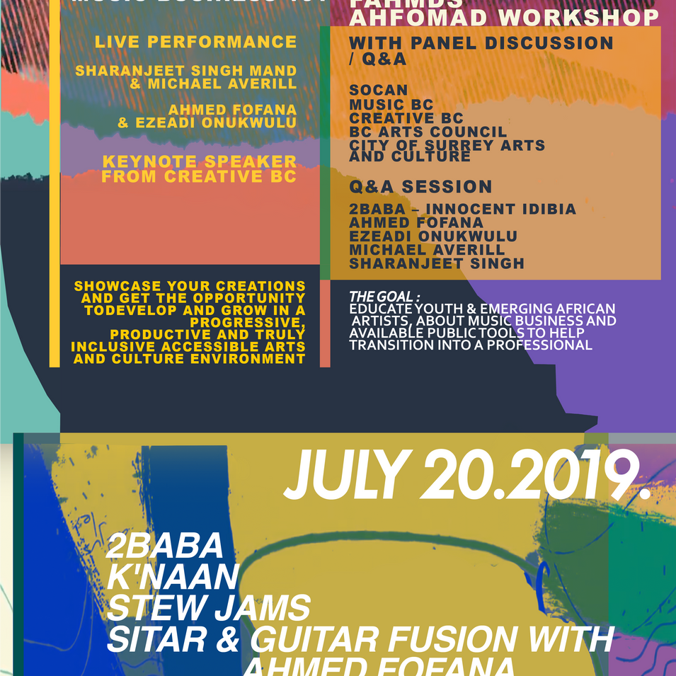 AHFOMAD Festival July 20, 2019