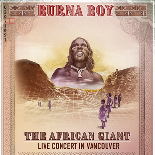 Burna Boy Concert in Vancouver 2019