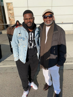Patrick and Nigerian Artist Falz