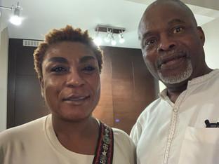 Patrick and Bose Ogulu (Mama Burna)