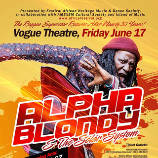 Alpha Blondy in Vancouver