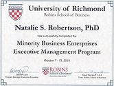 Executive Management Program Certificate