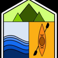 Kayak Elements Sticker