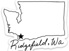 Ridgefield (State) Sticker