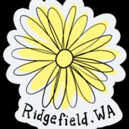 Ridgefield (Flower) Sticker
