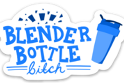 Blender Bottle Bitch Sticker