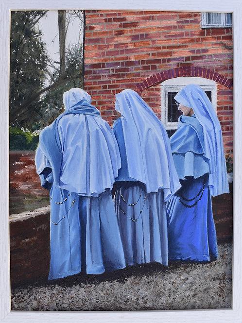 Nuns at Flatford Mill