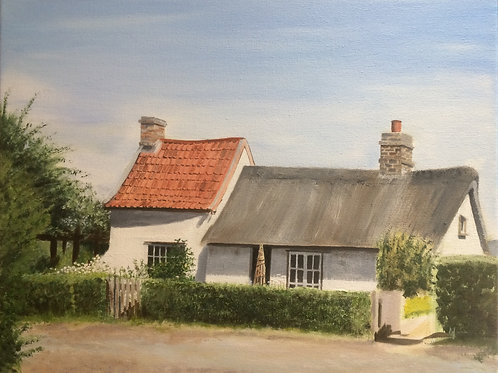 Fenmans Cottage, Wicken Fen