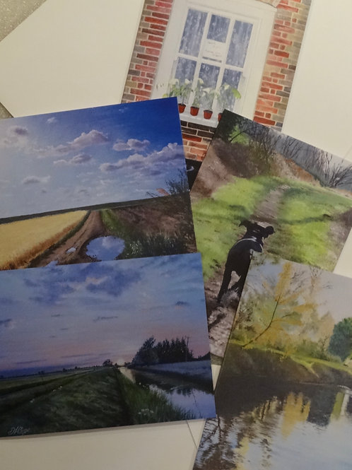 Greeting Cards from Burwell card pack